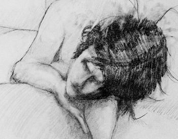 Figure Drawing by John Caron (cropped)